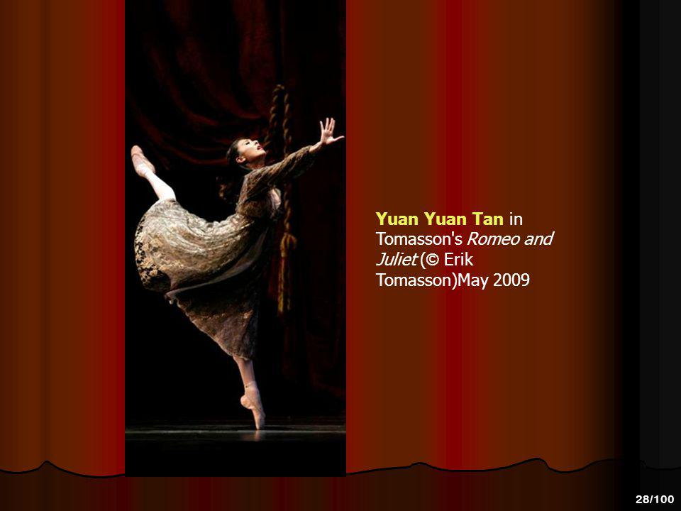 Yuan Yuan Tan in Tomasson s Romeo and Juliet (© Erik Tomasson)May 2009