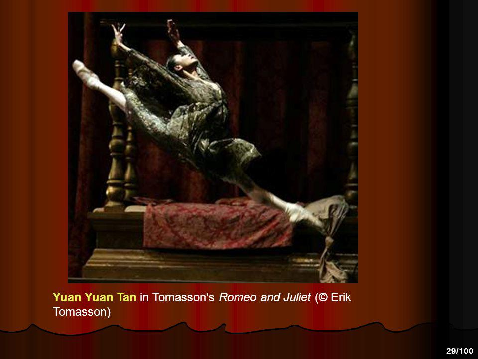 Yuan Yuan Tan in Tomasson s Romeo and Juliet (© Erik Tomasson)
