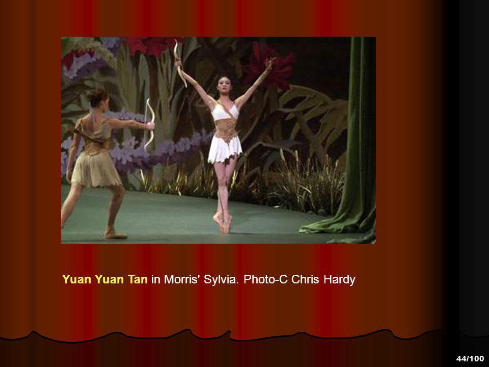 Yuan Yuan Tan in Morris Sylvia. Photo-C Chris Hardy