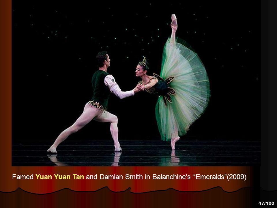 Famed Yuan Yuan Tan and Damian Smith in Balanchine's Emeralds (2009)