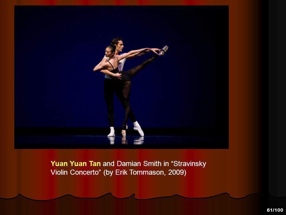 Yuan Yuan Tan and Damian Smith in Stravinsky Violin Concerto (by Erik Tommason, 2009)
