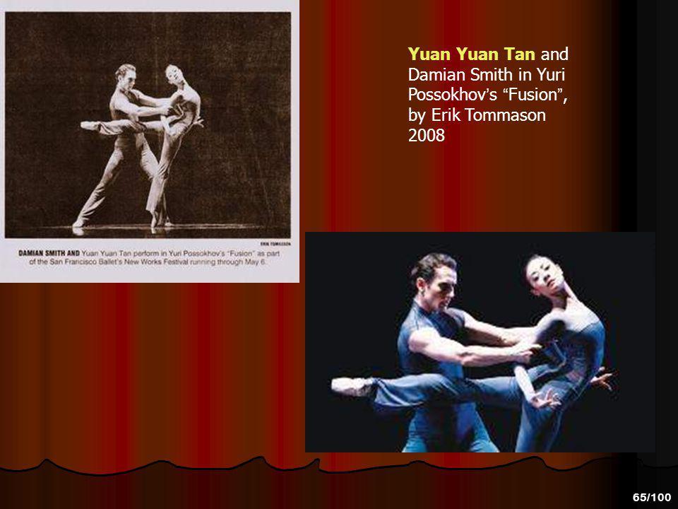 Yuan Yuan Tan and Damian Smith in Yuri Possokhov's Fusion , by Erik Tommason 2008