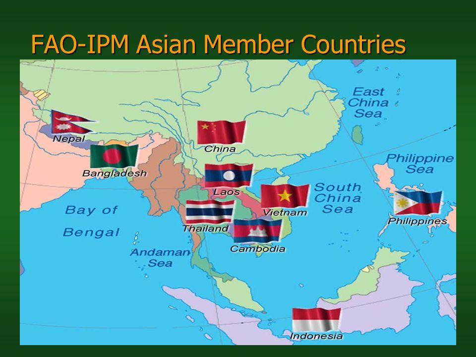 FAO-IPM Asian Member Countries