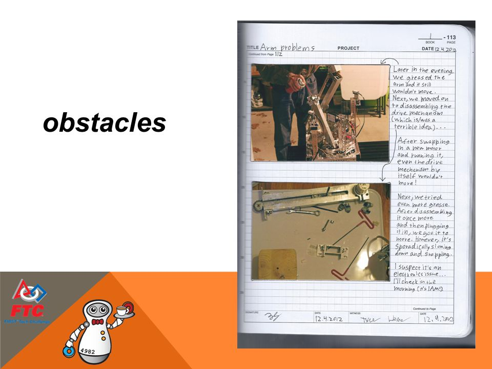 obstacles 15