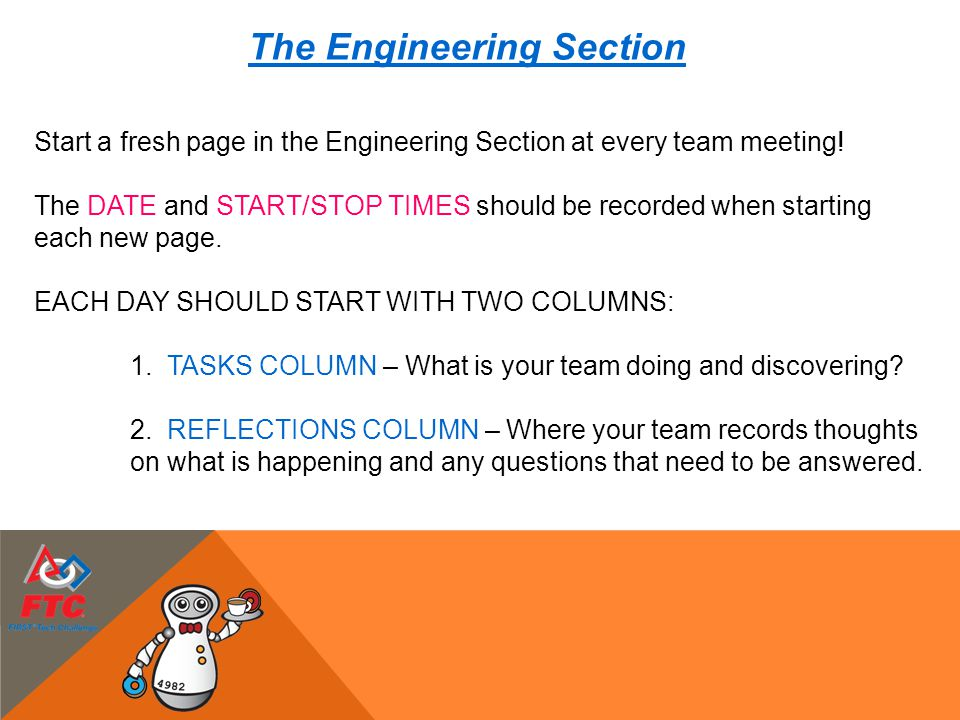 The Engineering Section