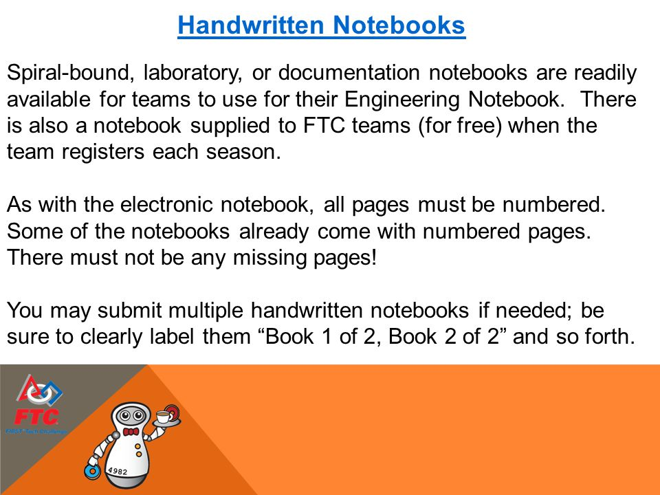 Handwritten Notebooks