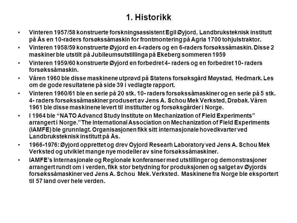 1. Historikk