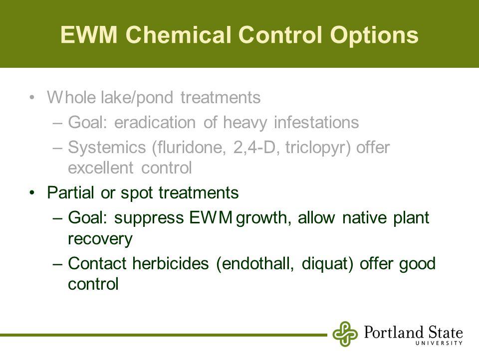EWM Chemical Control Options