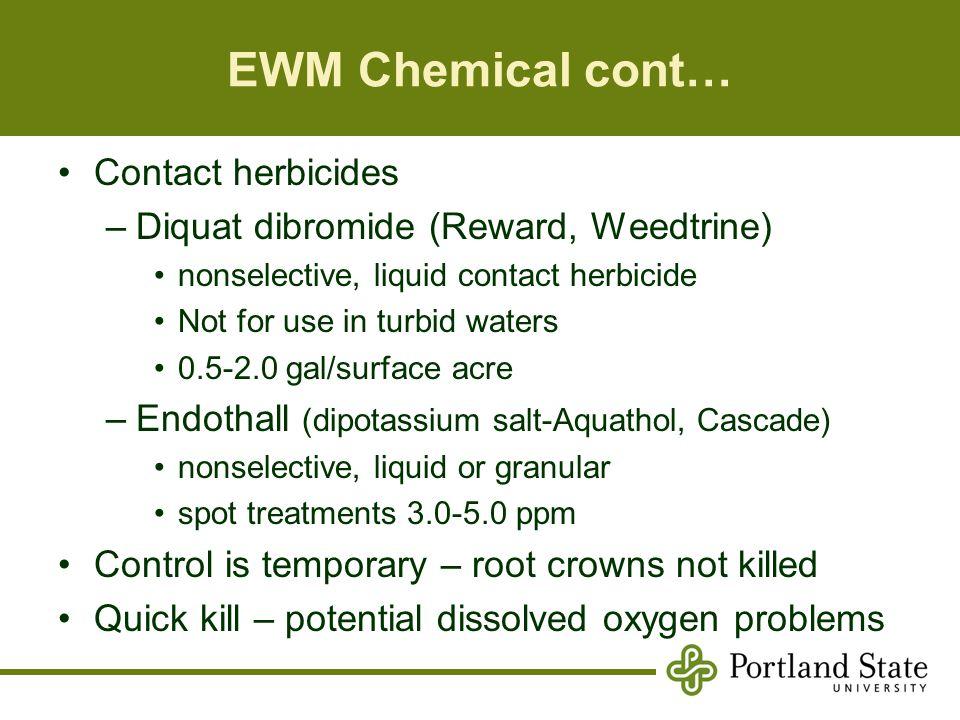 Biology & ecology of aquatic weeds