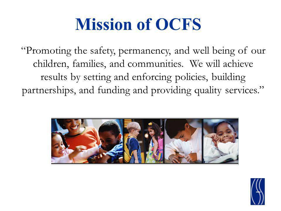 Mission of OCFS