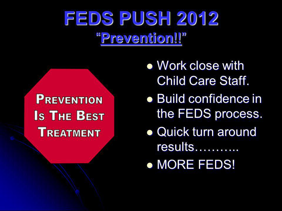 FEDS PUSH 2012 Prevention!!