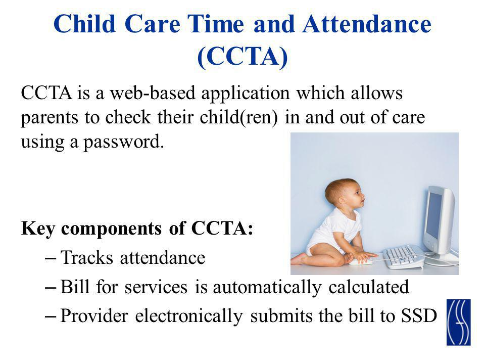 Child Care Time and Attendance (CCTA)