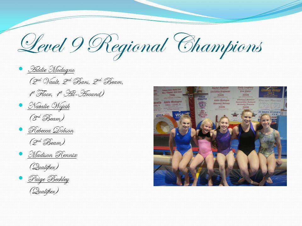 Level 9 Regional Champions