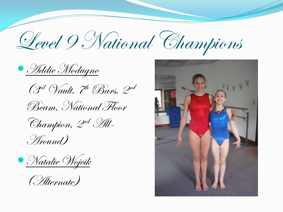 Level 9 National Champions