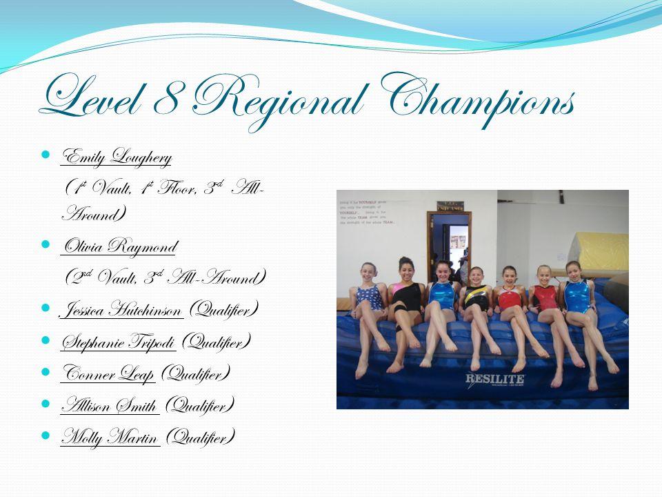 Level 8 Regional Champions