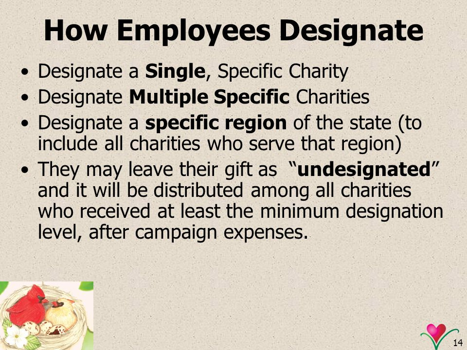 How Employees Designate