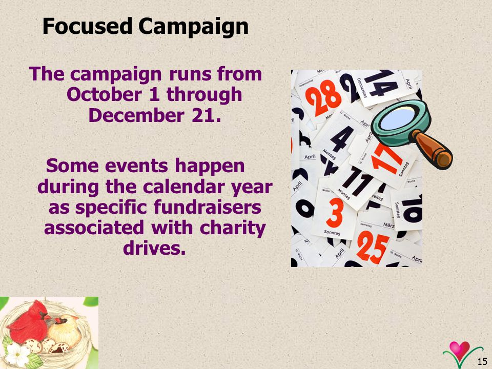 The campaign runs from October 1 through December 21.