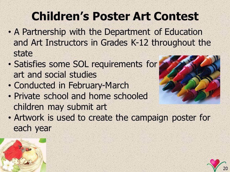 Children's Poster Art Contest
