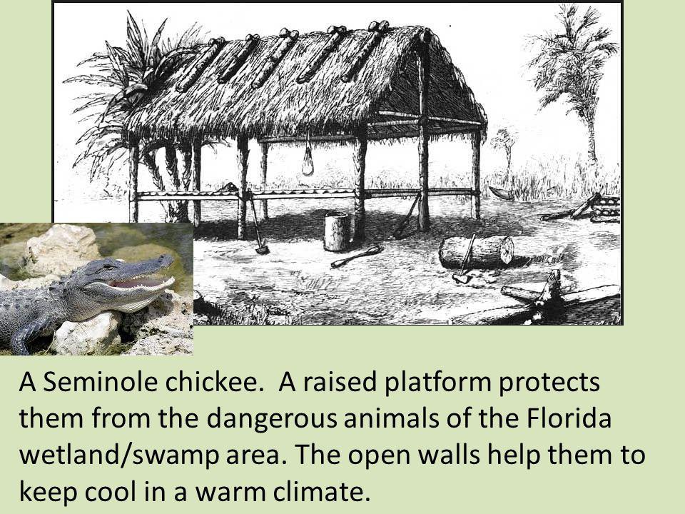 A Seminole chickee.
