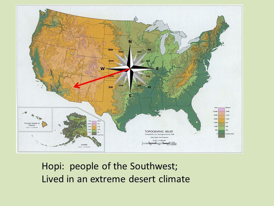 Hopi: people of the Southwest;