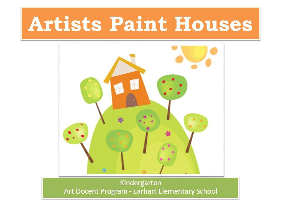 Kindergarten Art Docent Program - Earhart Elementary School
