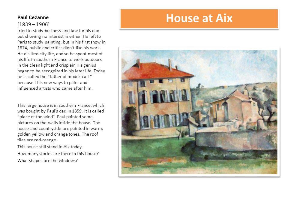 House at Aix
