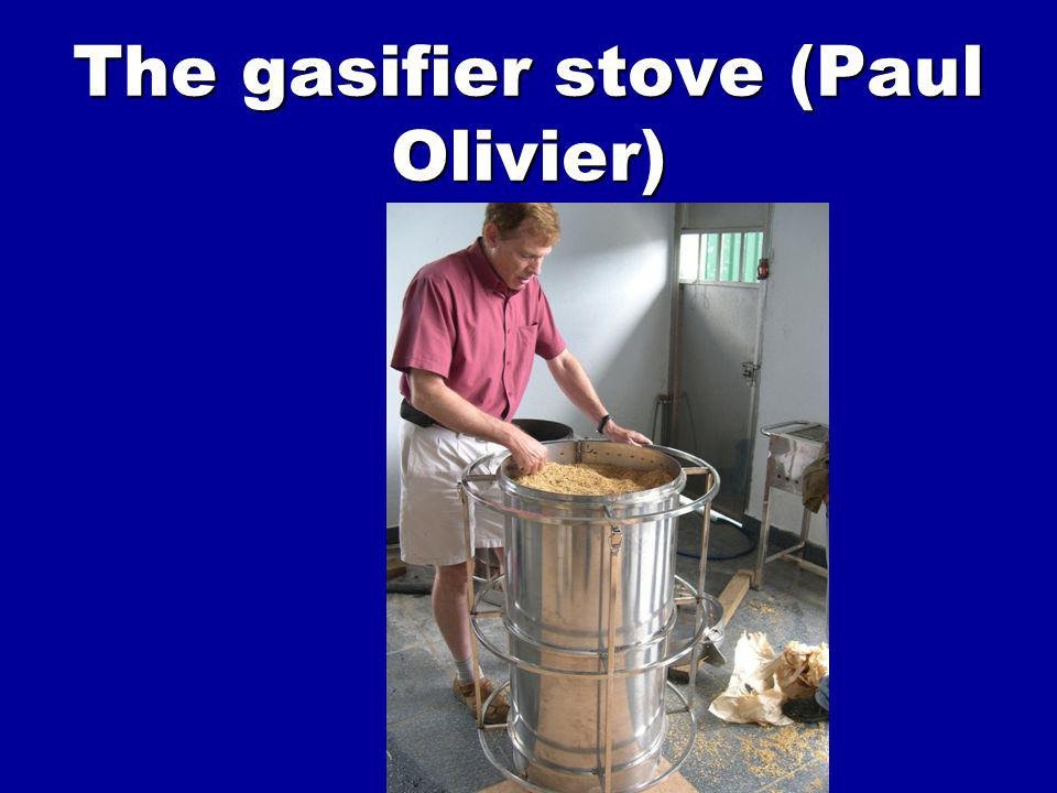 The gasifier stove (Paul Olivier)