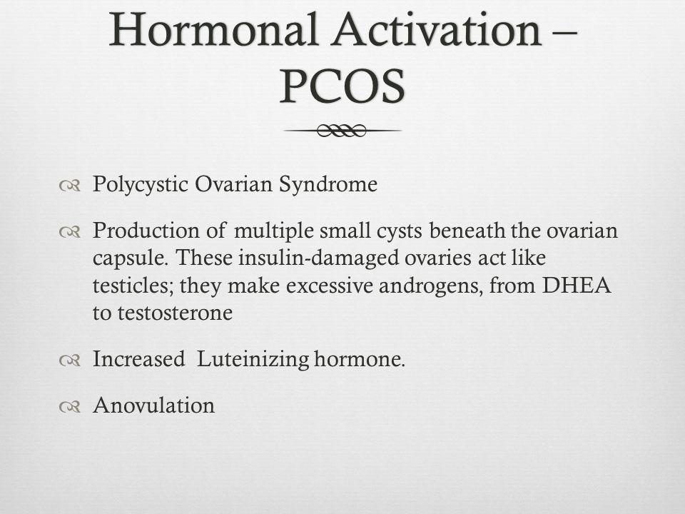 Hormonal Activation – PCOS
