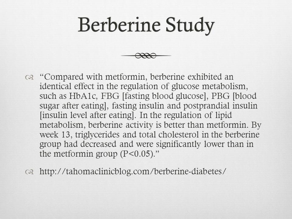 Berberine Study