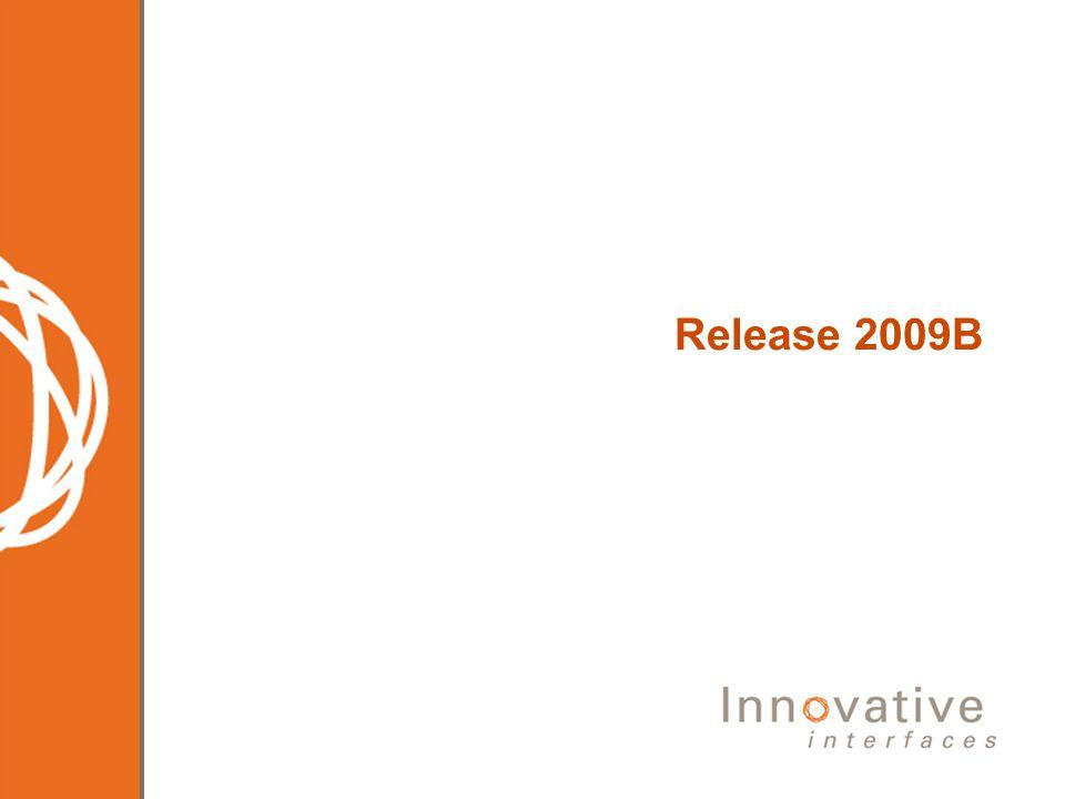 Release 2009B