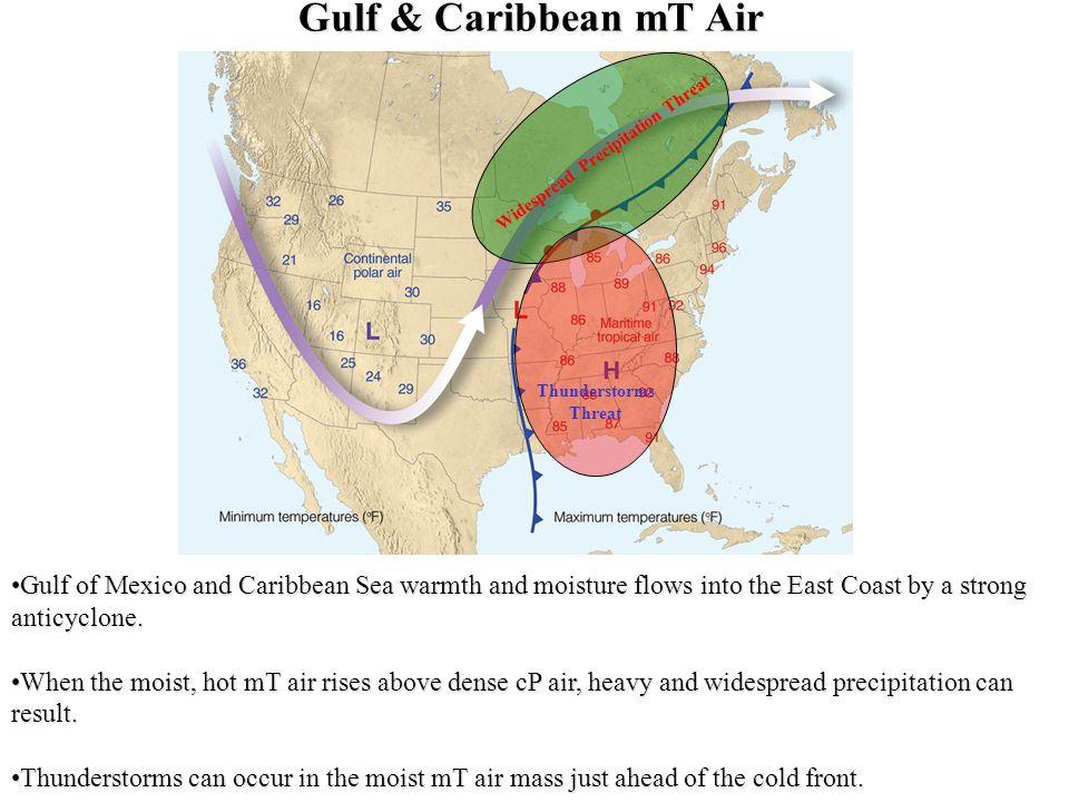 Widespread Precipitation Threat