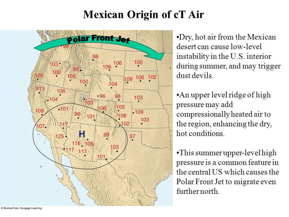 Mexican Origin of cT Air