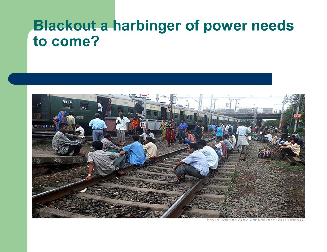 Blackout a harbinger of power needs to come