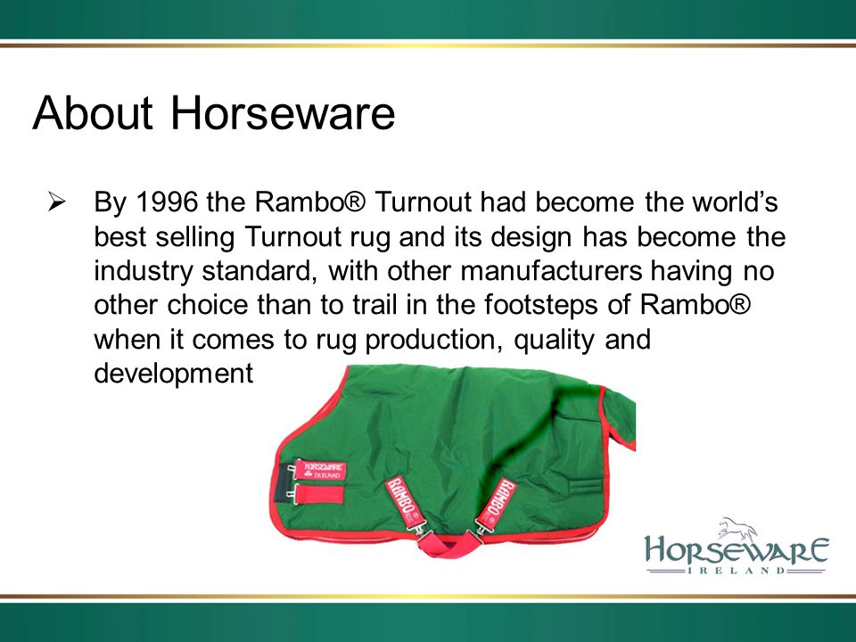 About Horseware