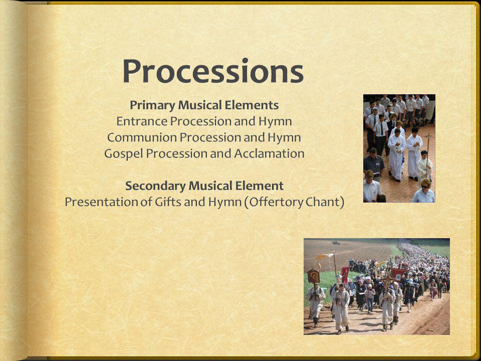 Primary Musical Elements Secondary Musical Element