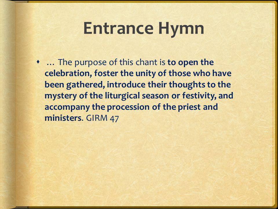 Entrance Hymn
