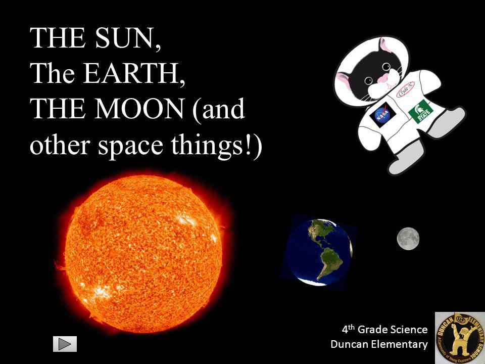 The EARTH, THE MOON (and other space things!)