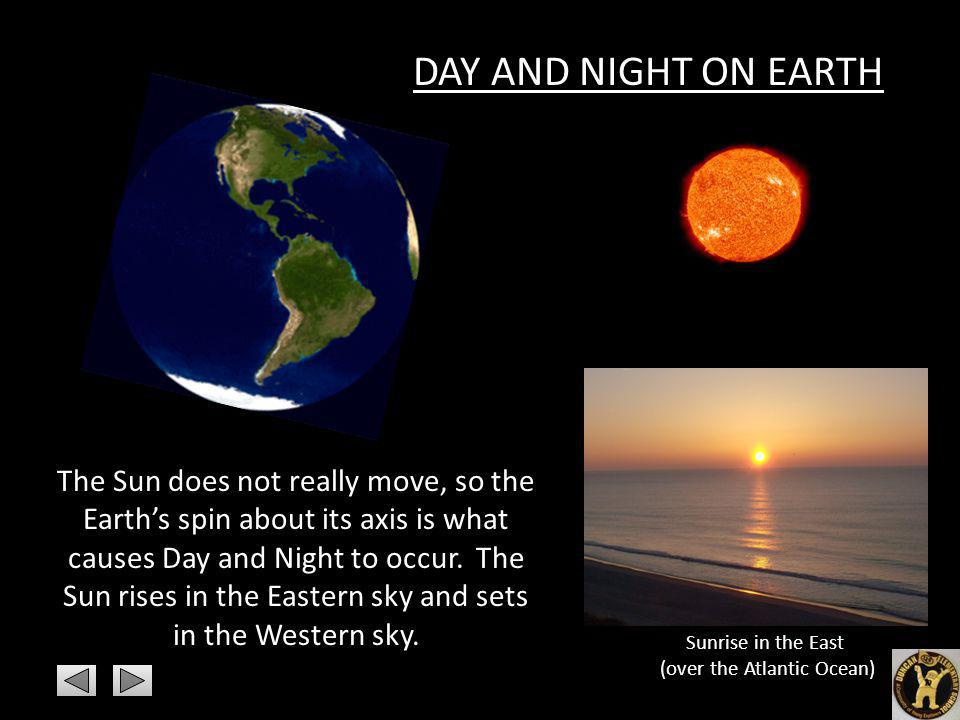 Sunrise in the East (over the Atlantic Ocean)