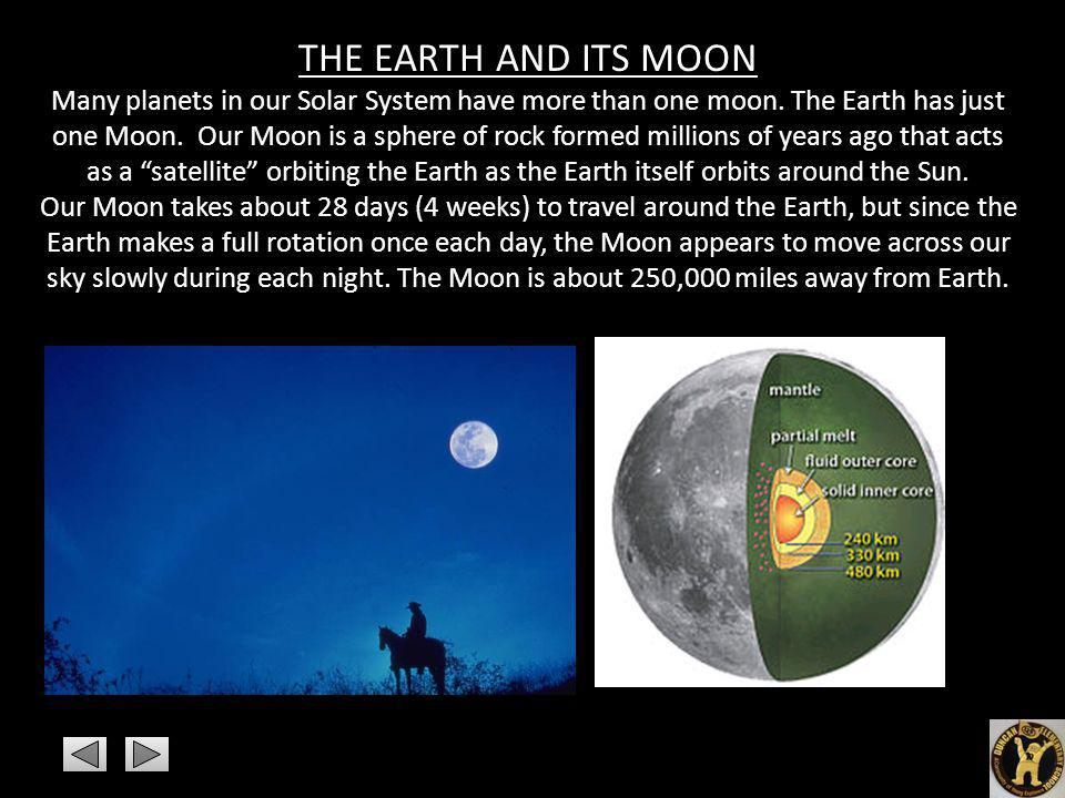 THE EARTH AND ITS MOON
