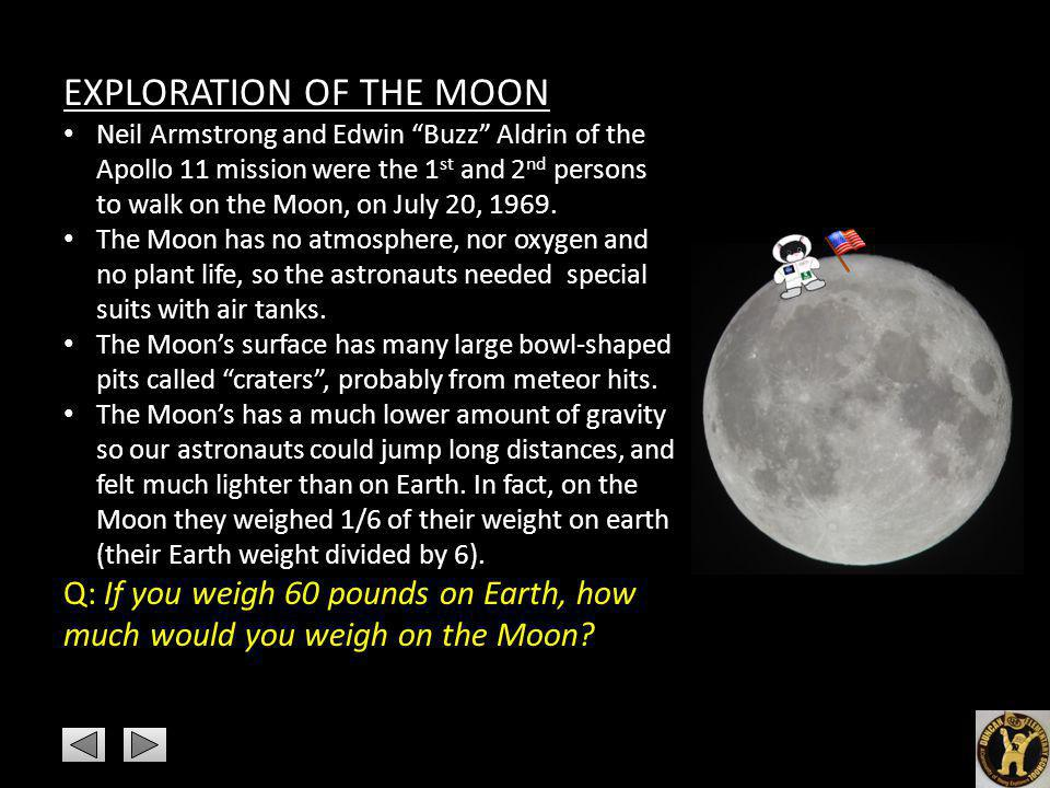 EXPLORATION OF THE MOON