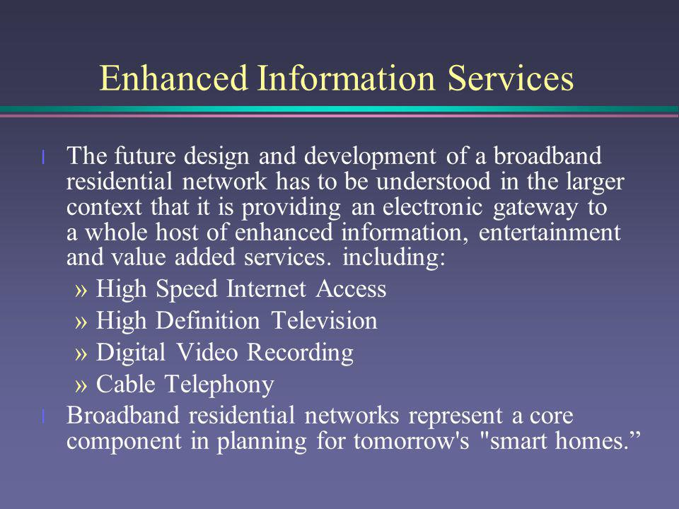Enhanced Information Services