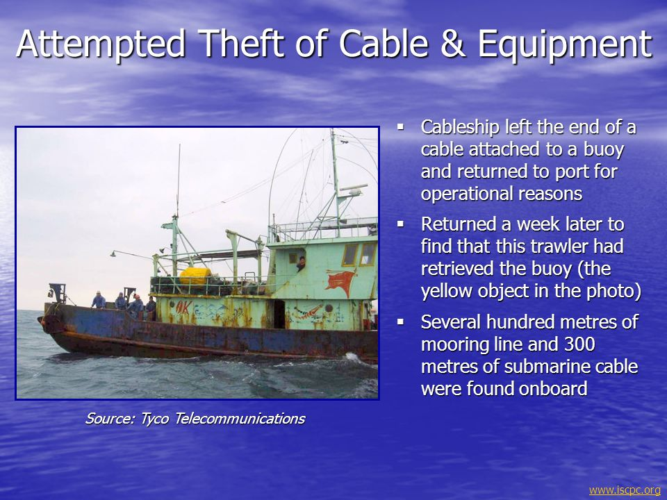 Attempted Theft of Cable & Equipment