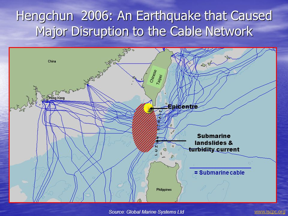 Hengchun 2006: An Earthquake that Caused Major Disruption to the Cable Network