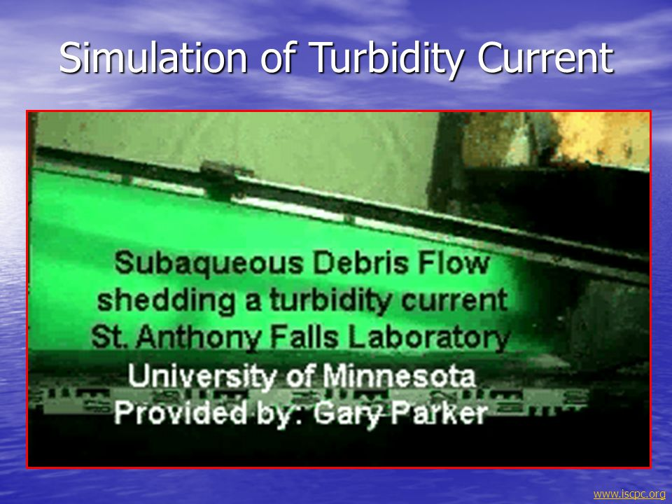 Simulation of Turbidity Current