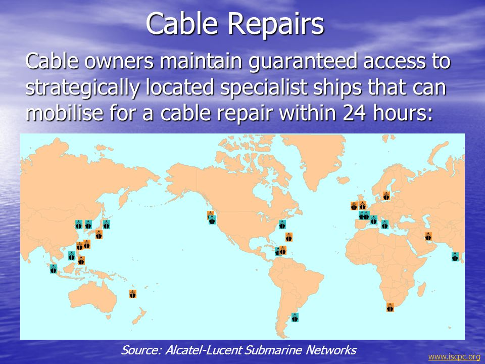 Source: Alcatel-Lucent Submarine Networks