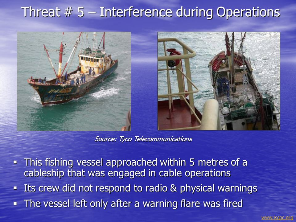 Threat # 5 – Interference during Operations