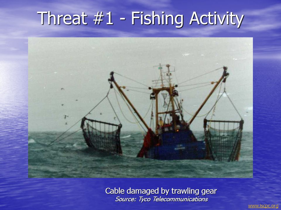 Threat #1 - Fishing Activity