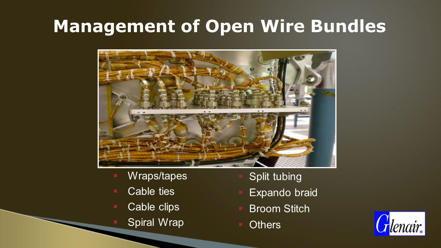 Management of Open Wire Bundles