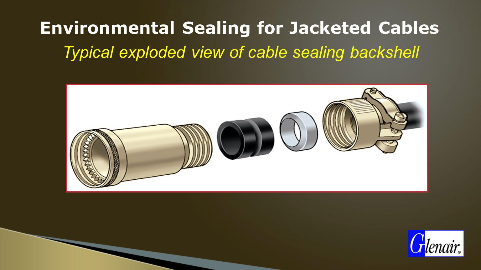 Environmental Sealing for Jacketed Cables