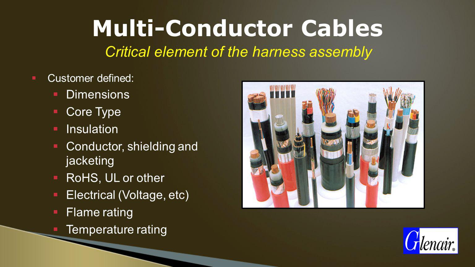 Multi-Conductor Cables